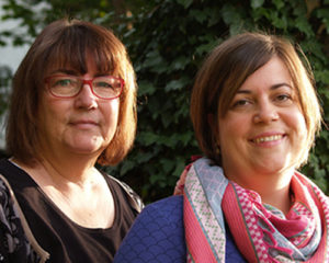 Sylvia Ritter und Kathy Christina Pithan